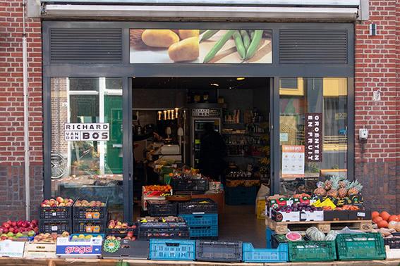 Richard van den Bos Groenten en Fruit Leiden