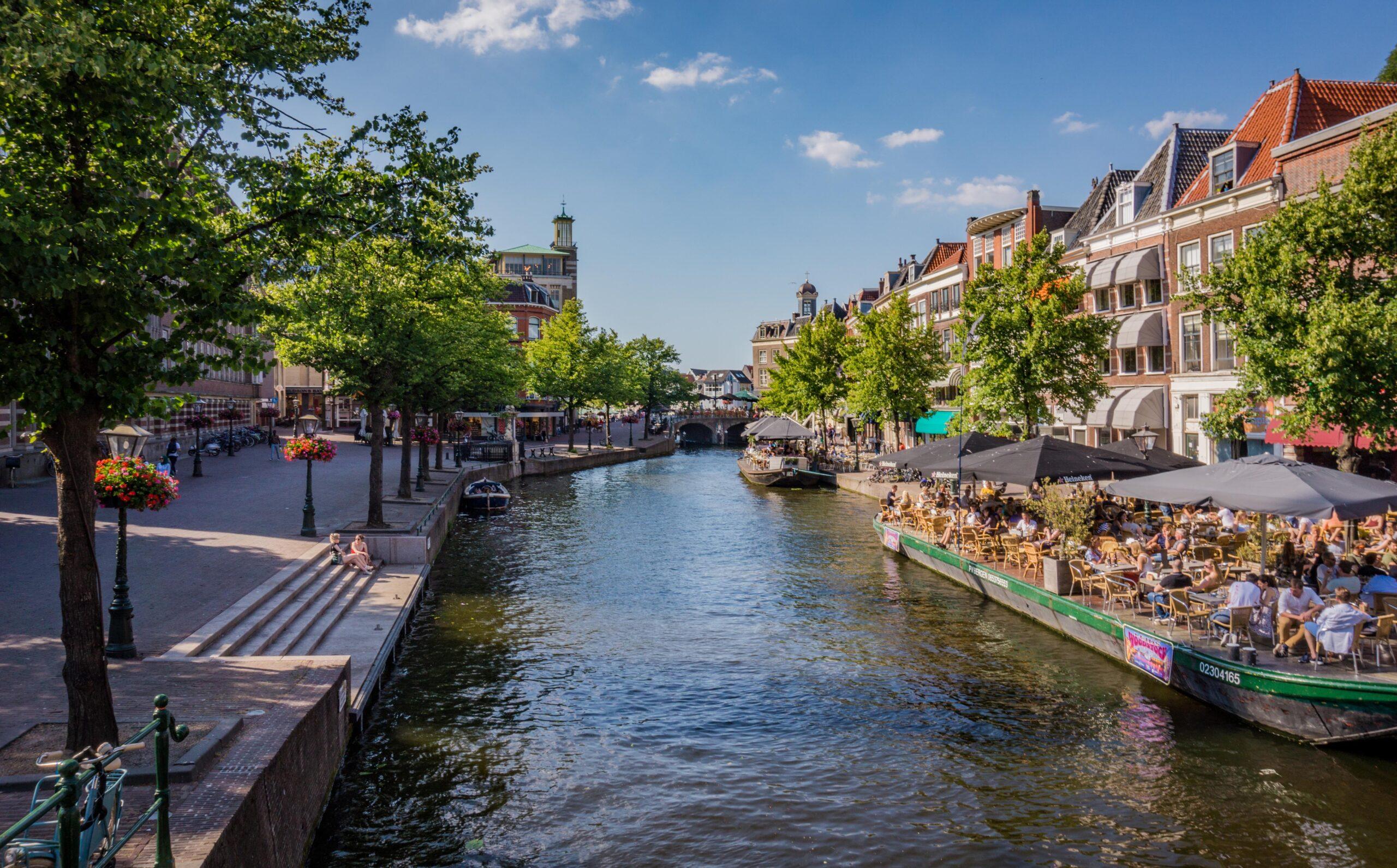 Dit zijn de zonnigste terrassen van Leiden